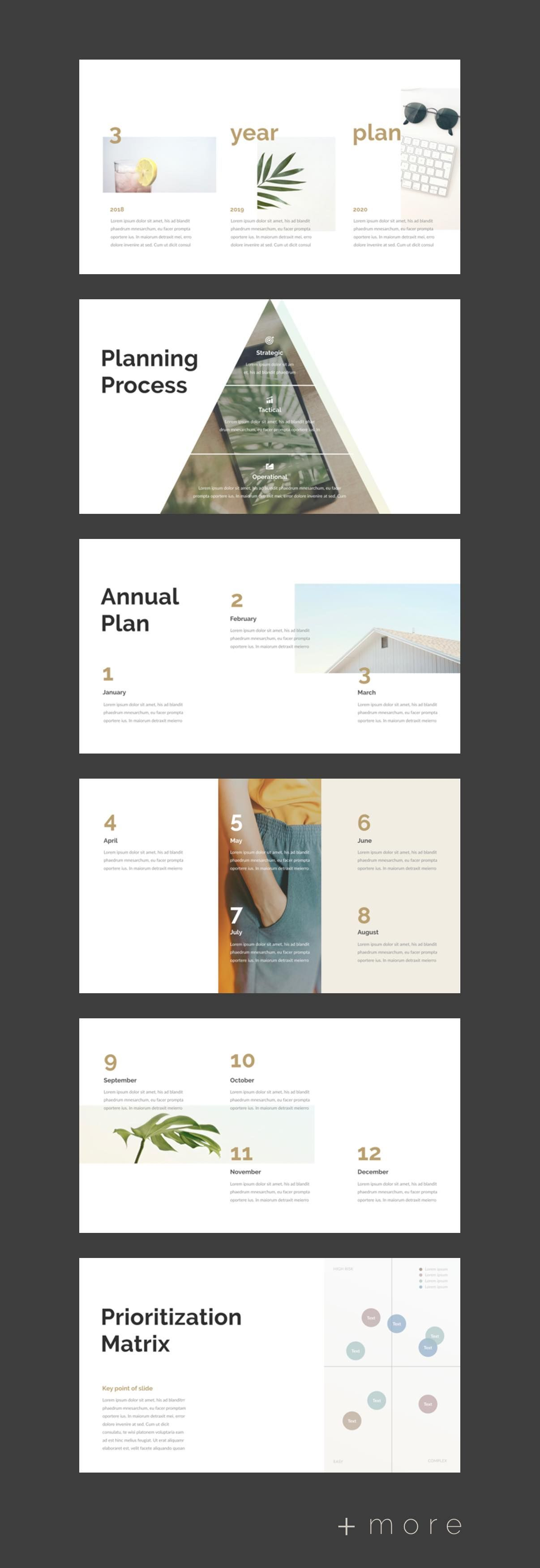 planner presentation template 2018 business planning ppt plan