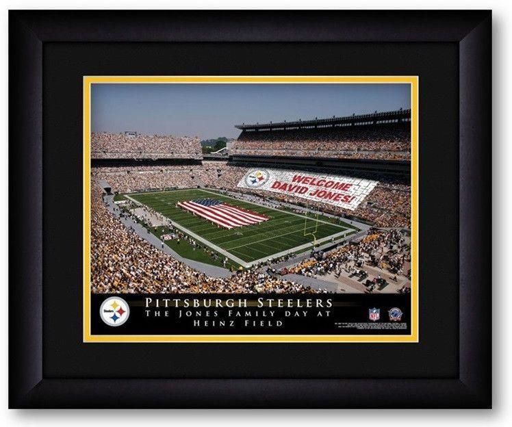 Pittsburgh Steelers NFL Personalized Stadium Print