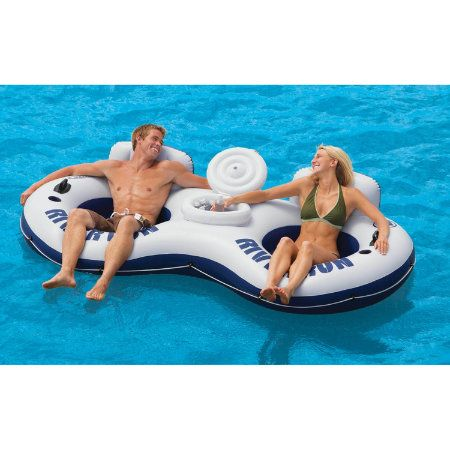 Overton S River Run Ii With Cooler Watersports Lake Pool Leisure Floats Lounges Swimming Pool Lounges Pool Floa Lake Floats Tubing River Pool Floats