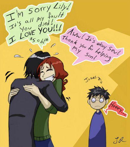 The Kiss Snape And Lily Severus Snape Severus Snape