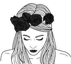 Resultado De Imagen Para Mujer Bonita Tumblr Dibujo Dibujos