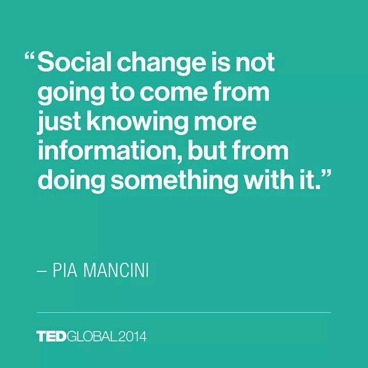 Social Change Quotes Unique Pinshannon Mccary On Quotes  Pinterest