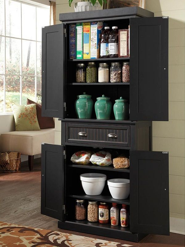 30+ Stand Alone Pantry | Kitchen cabinet storage, Pantry ...