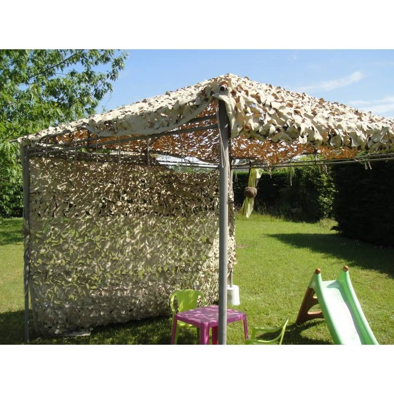 Filet de camouflage desert 800 800 filet de for Filet camouflage terrasse