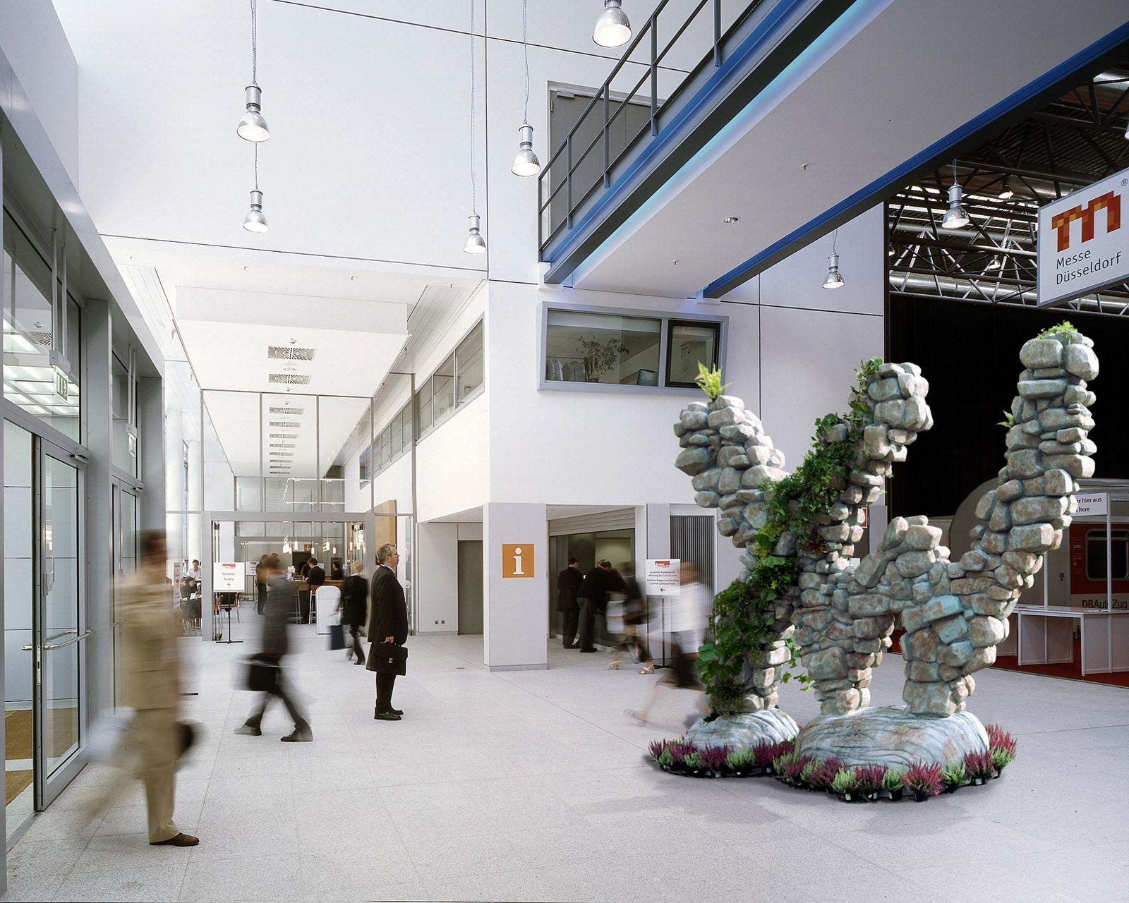 XW Statue für Weserbergland von Orange Cube Hamburg