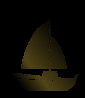 White Sailboat Beautiful Sailboat Black Hull Fast Sailing Boat Hurricane And Waves Cartoon Illustration White Sailboat Png Transparent Clipart Image And Psd Boat Cartoon Black And White Cartoon Cartoon Illustration