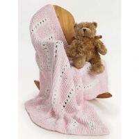 Premier® Eyelet Stripe Baby Blanket Free Download