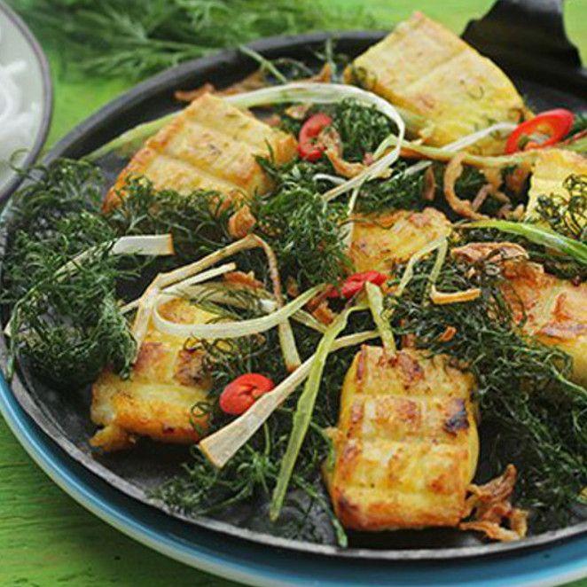 Cha Ca La Vong Gegrillter Fisch Rezept Rezepte Lebensmittel Essen Heilbutt