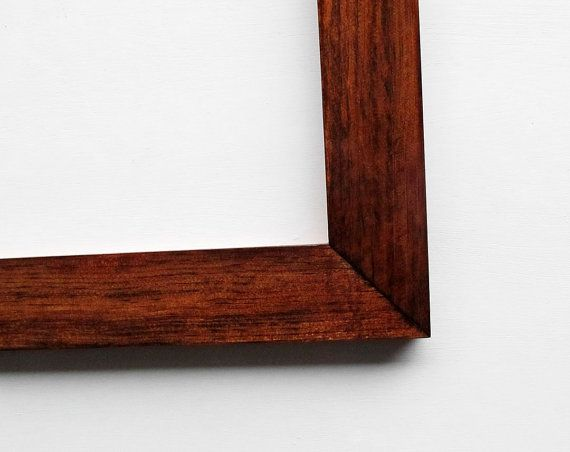 11x14 Glossy Wood Frame Beautiful High Gloss Natural Wood Picture Frame Wood Picture Frames Wood Frame Picture Frames