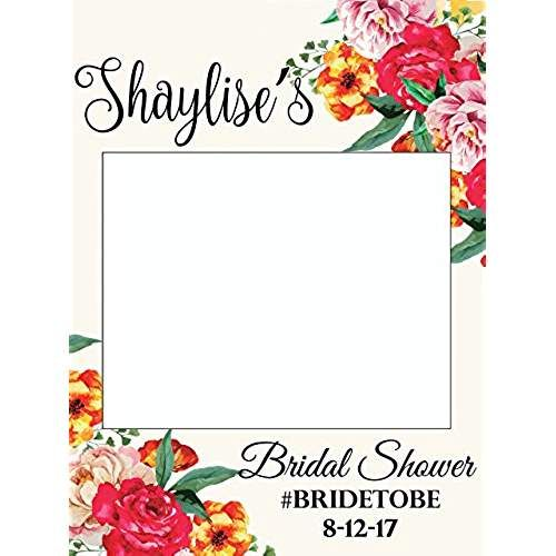 Personalized Wedding Photo Booth Frame   Framejdi.org