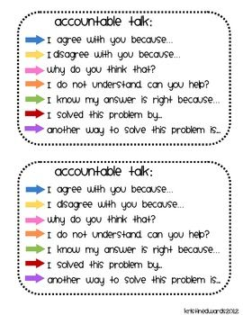 Talking Math: 100 Questions That Help Promote Mathematical Discourse