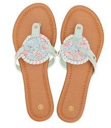 77e2d8662 Monogram Sandals