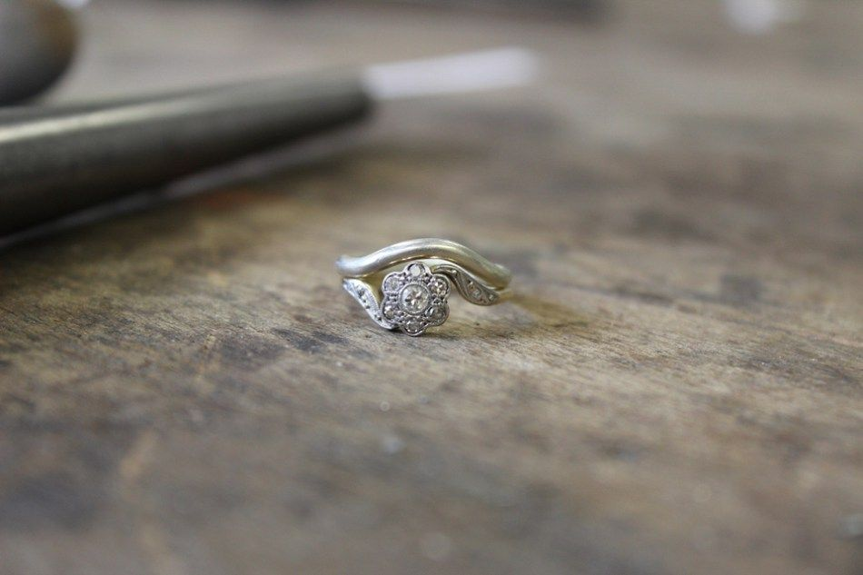 How to Make Your Own Wedding Rings with The Quarter Workshop Ring