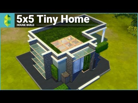 The Sims 4 House Building - 5x5 Tiny Home - YouTube