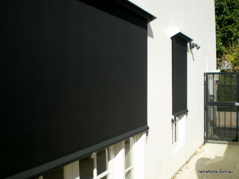 Outside Blinds Adelaide At Rainsfords Friendly Local Service Blinds Shading Device Modern