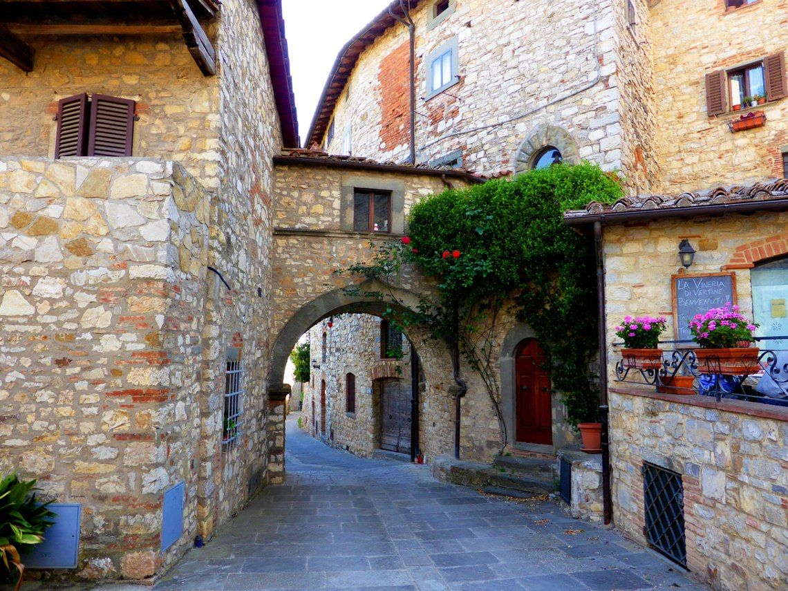 Gaiole in Chianti:Visit Chianti in Tuscany   Tuscany ...