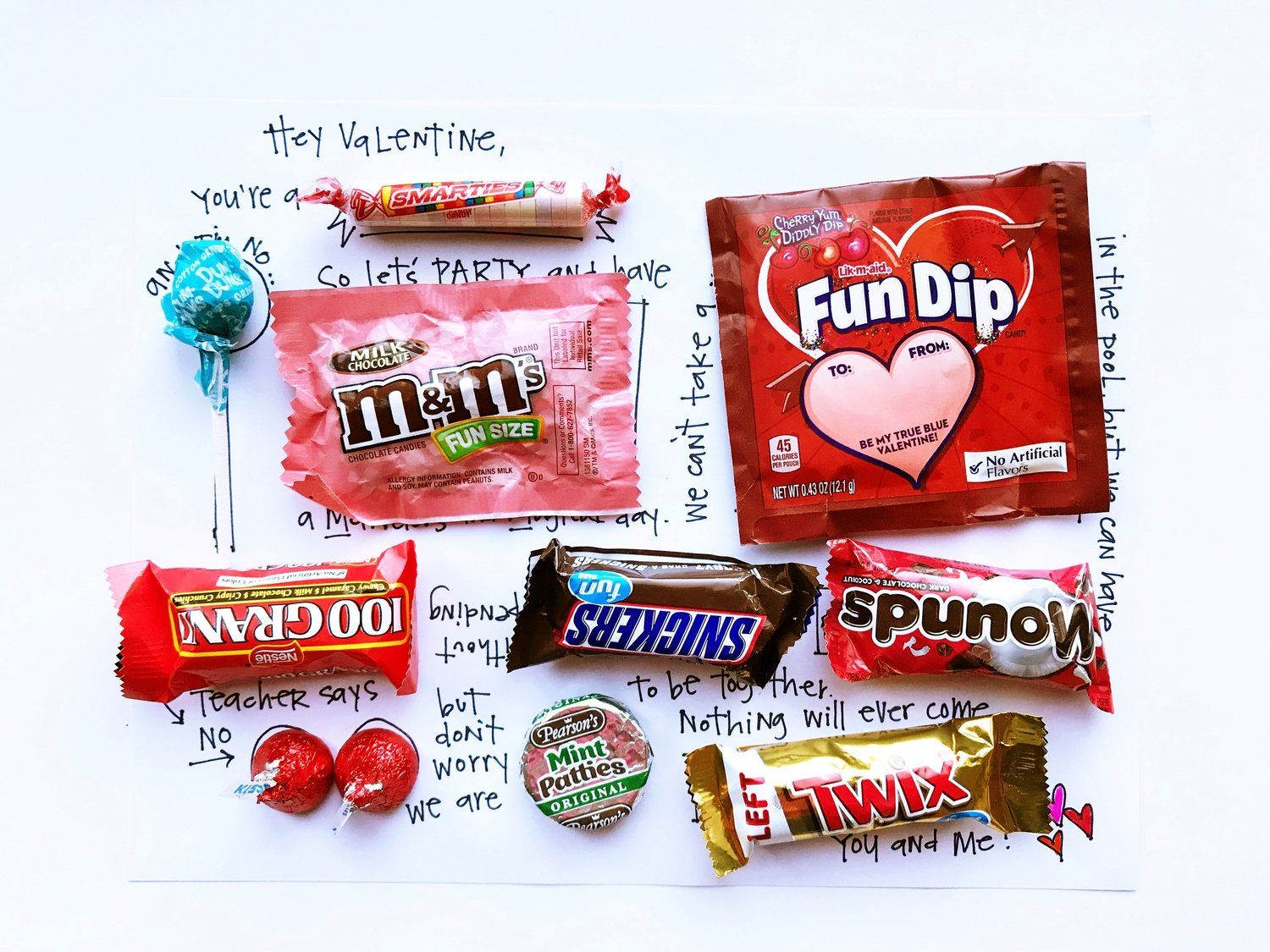 Fill In The Blank Candy Valentine Stacy Julian In