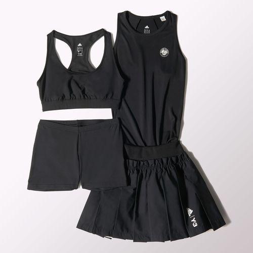 svart adidas dress