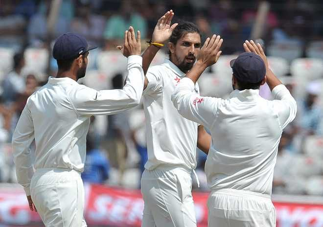 Bowlers turn on heat as India beat B'desh by 208 runs in one-off Test