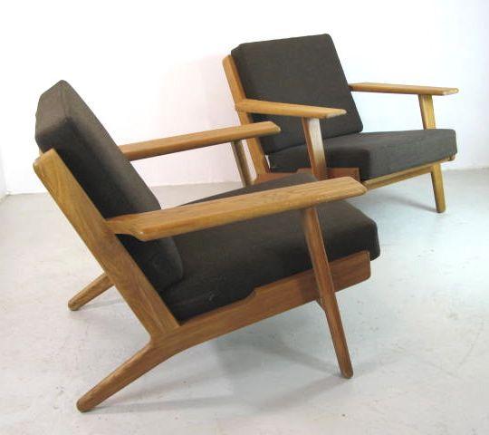 Hans Wegner Plank Chairs Furniture Furniture Chair En