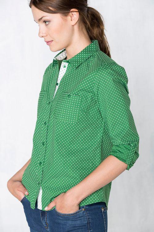 Camisa Preppy Ropa Ropa De Hombre Blusas Mujer