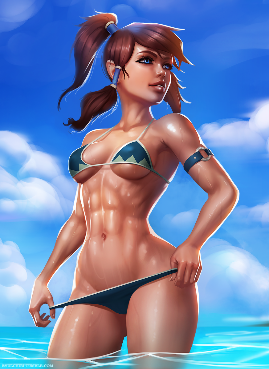 Confirm. Bikini girl avatar have