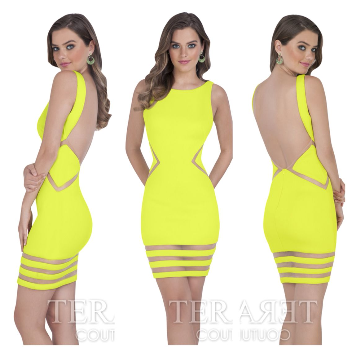 Yay or nay? Terani 1611p0003. Available in Chartreuse, Royal, Red ...