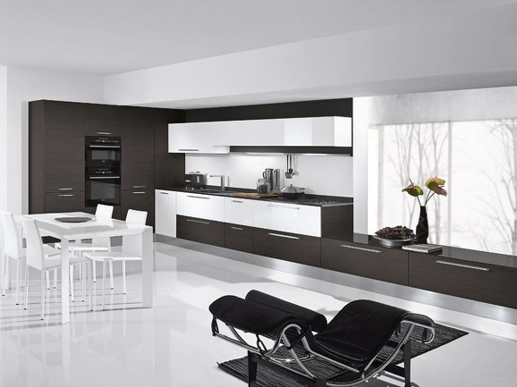 Living Room Kitchen Design awesome german kitchen designs | black white, white interiors and