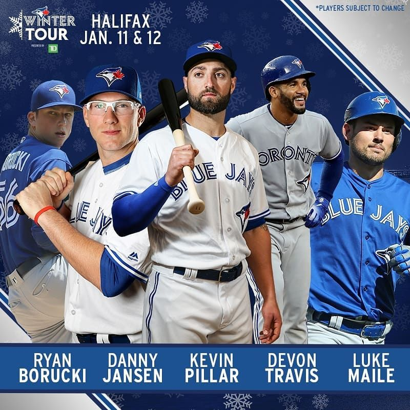 Halifax we're bringing friends!  Introducing our 2019 #TBJWinterTour Player Lineup!