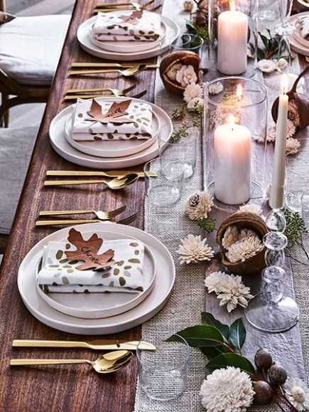 The Perfect Thanksgiving Table Setting Family Circle