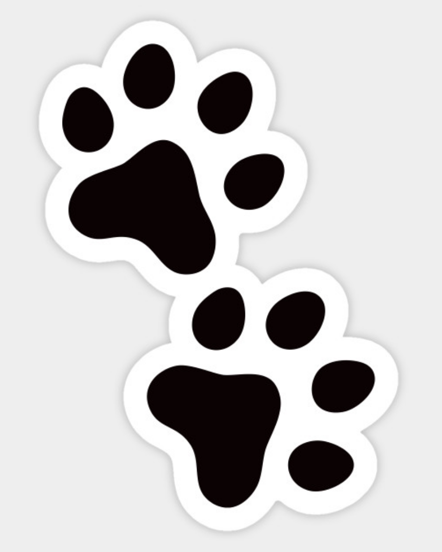 White Wolf Paw Dog Tag By Dog Tag Art 743692 Png Images Pngio Wolf Paw Print Wolf Paw Paw Drawing
