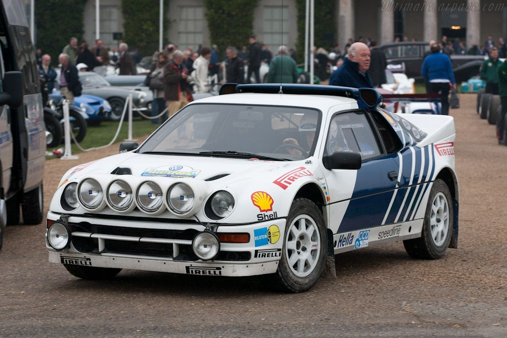 Ford Rs200 Chassis Sfacxxbj2cgl00074 2012 Goodwood Preview