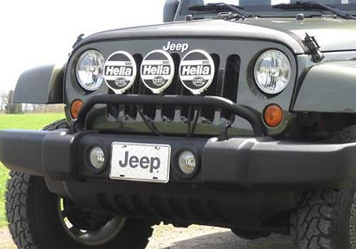 Jeep Accessory Mopar Oem Jeep Wrangler Front Bumper Light Bar