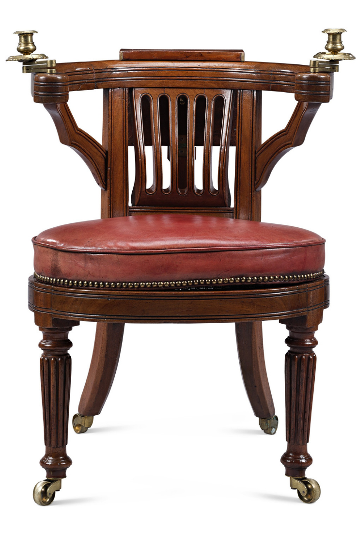 This highly unique Regency-period cockfighting chair is an exceptional  rarity. Also know as - Product Not Found Antique Antiques, Furniture, Chair