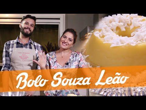 Bolo Souza Leao Carol E Murilo Receita Bake Off Brasil