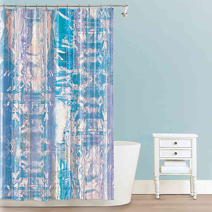 Iridescent Peva Shower Curtain Bed Bath Beyond Cool Shower