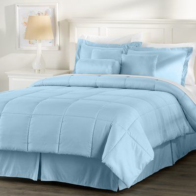 Basics Wayfair Basics Reversible Comforter Set Comforter Sets
