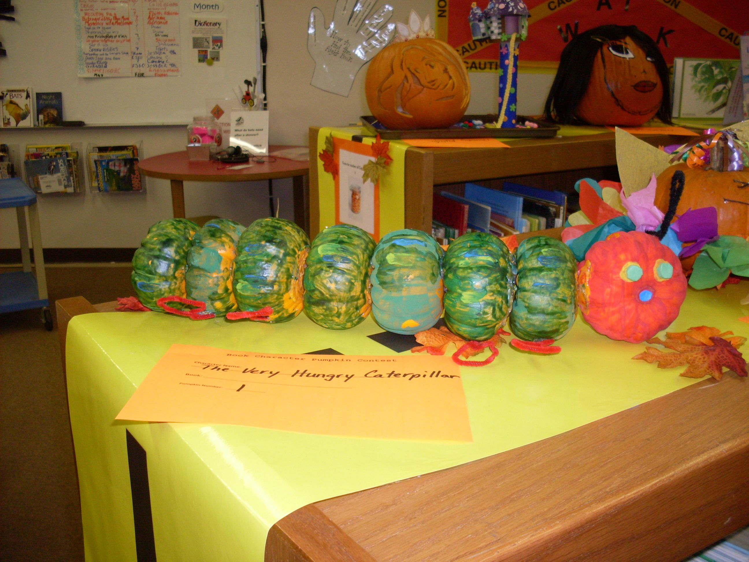 Book A Ween And Book Character Pumpkin Contest Character Pumpkins Book Character Pumpkins Pumpkin Decorating Contest