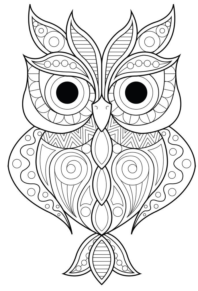 Printable Quote Coloring Coloring Printables Coloring Jurnalistikonline Com Owl Coloring Pages Animal Coloring Pages Mandala Coloring Pages