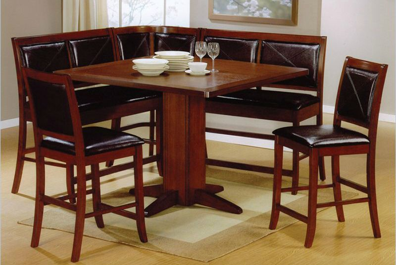 Wow 33 Space Saving Corner Breakfast Nook Furniture Sets 2021 Corner Dining Table Counter Height Dining Table Breakfast Nook Furniture