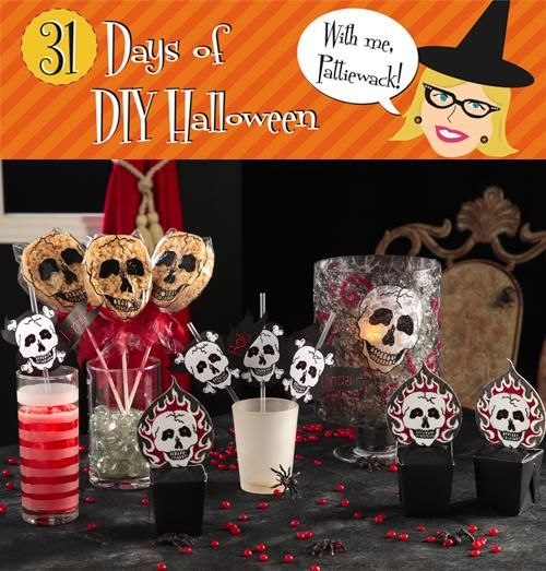 DIY Halloween  DIY Halloween - Skull Party Favors DIY Halloween - halloween decorations party