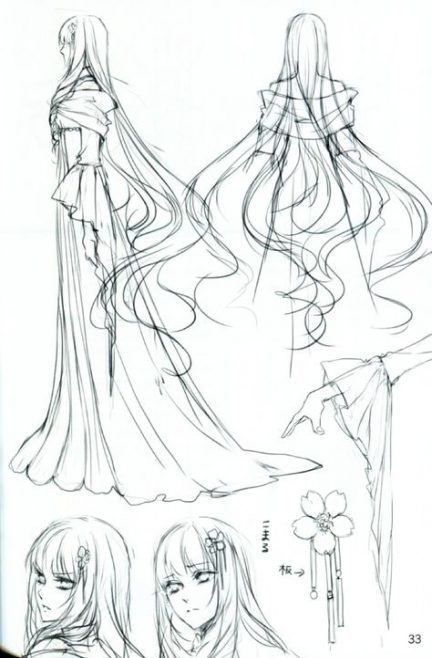 Photo of Best Drawing Hair Flowing Anime Girls Ideas