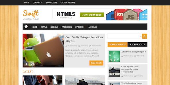 MyThemeShop Swift WordPress Theme