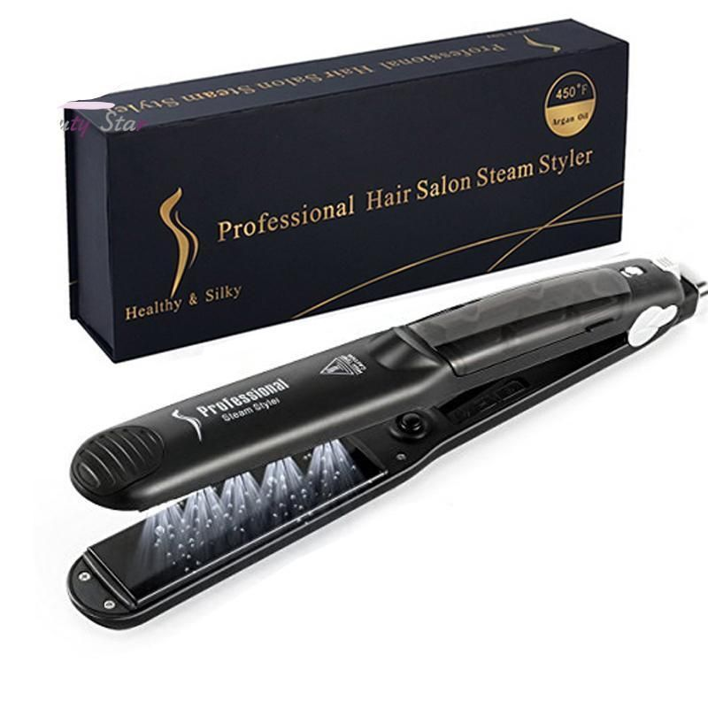 The Original This Product Is A Professional Hair Straightener Rapid Build Shiny Strai Professional Hair Straightener Hair Steaming Steam Hair Straightener