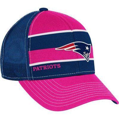 Reebok New England Patriots Women s Breast Cancer Awareness Trucker ... 4b4e97782