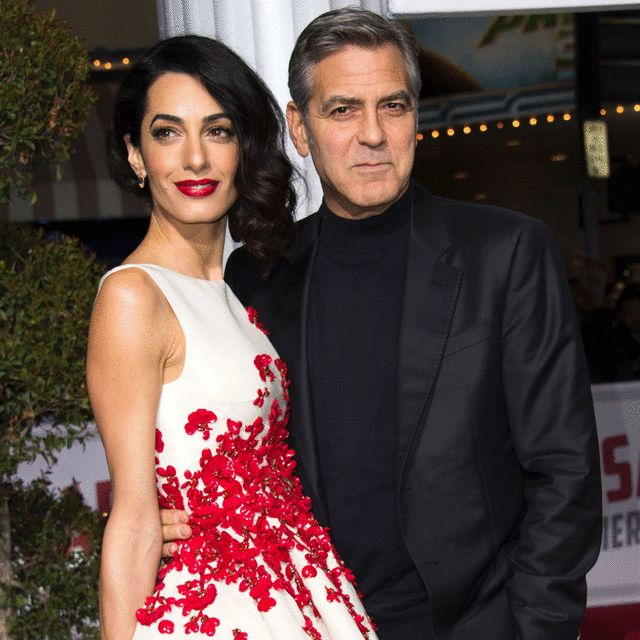 George And Amal Clooney Welcome Twins Amal Clooney George George Clooney