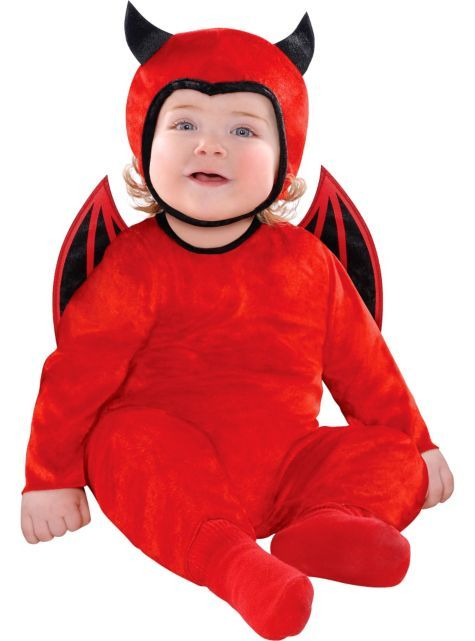 Baby Cute as a Devil Costume - Party City Canada Kid Halloween - party city store costumes