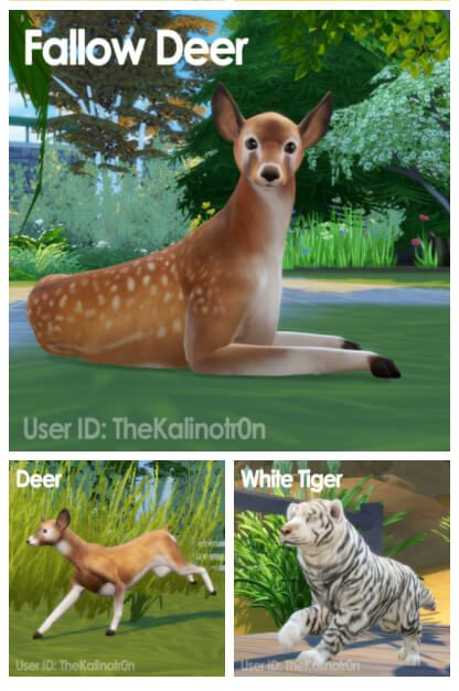 Wild Animals As Pets 2 For The Sims 4 With Images Sims Pets Sims 4 Pets Sims 4