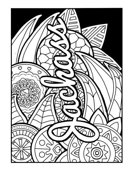 Jackass - Adult Coloring page - swear. Get 14 FREE ...