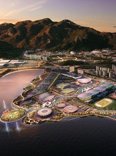 Rio De Janeiro Olympic Park 2016 Masterplan AECOM World Architecture News Jobs